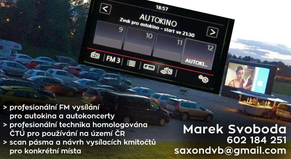 Profesionální FM vysílání pro autokina a autokoncerty - Marek Svoboda