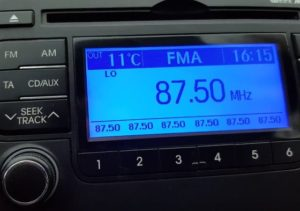 FM bandscan Praha