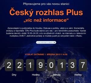Český rozhlas Plus. Zdroj: www.rozhlas.cz