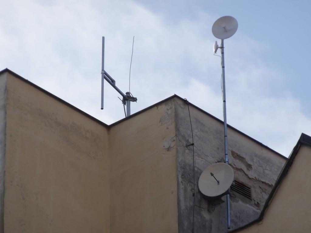 FM vysílač Brno - Zelný trh 102,4 MHz (mimo provoz) - Dance radio