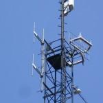 Brno - Husovice - detail dipólů Free Radia 107,0 MHz
