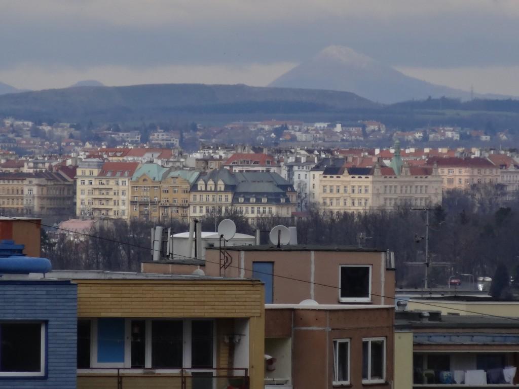 Milešovka z Prahy - Chodova