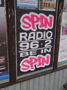Radio Spin logo 2013