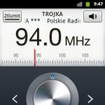 Polskie Radio Trójka 94,0 MHz - příjem v Praze - Ďáblicích