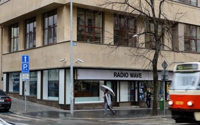 Radio Wave Vinohradská/Balbínova. Foto: Khalil Baalbaki, Český rozhlas